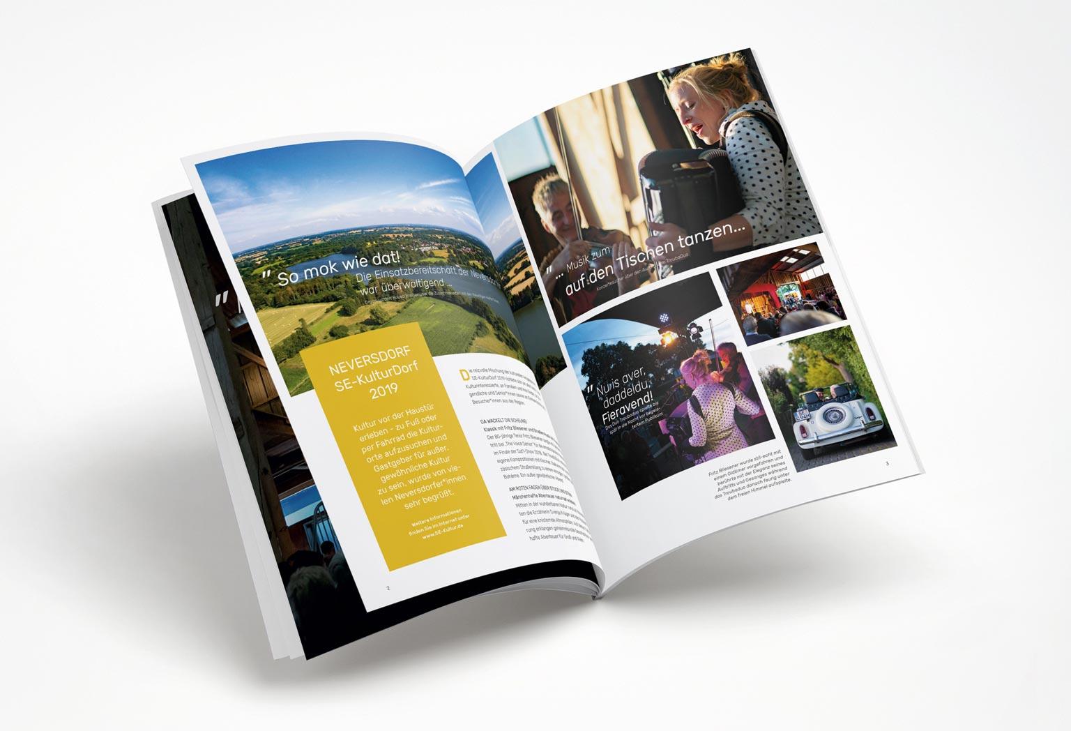 Werbemittel, Art Direction, Kommunikationsdesign, Kreis Segeberg, SE-Kulturtage, Segeberg