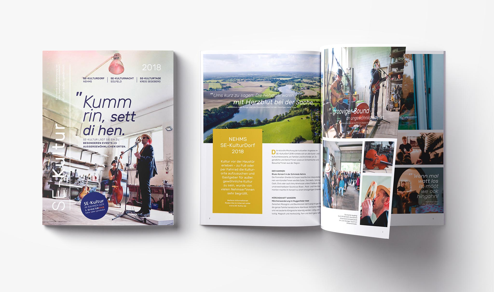 Fotografie, Editorial Design, Imagebroschüre, Segeberg, Kultur, Kunst
