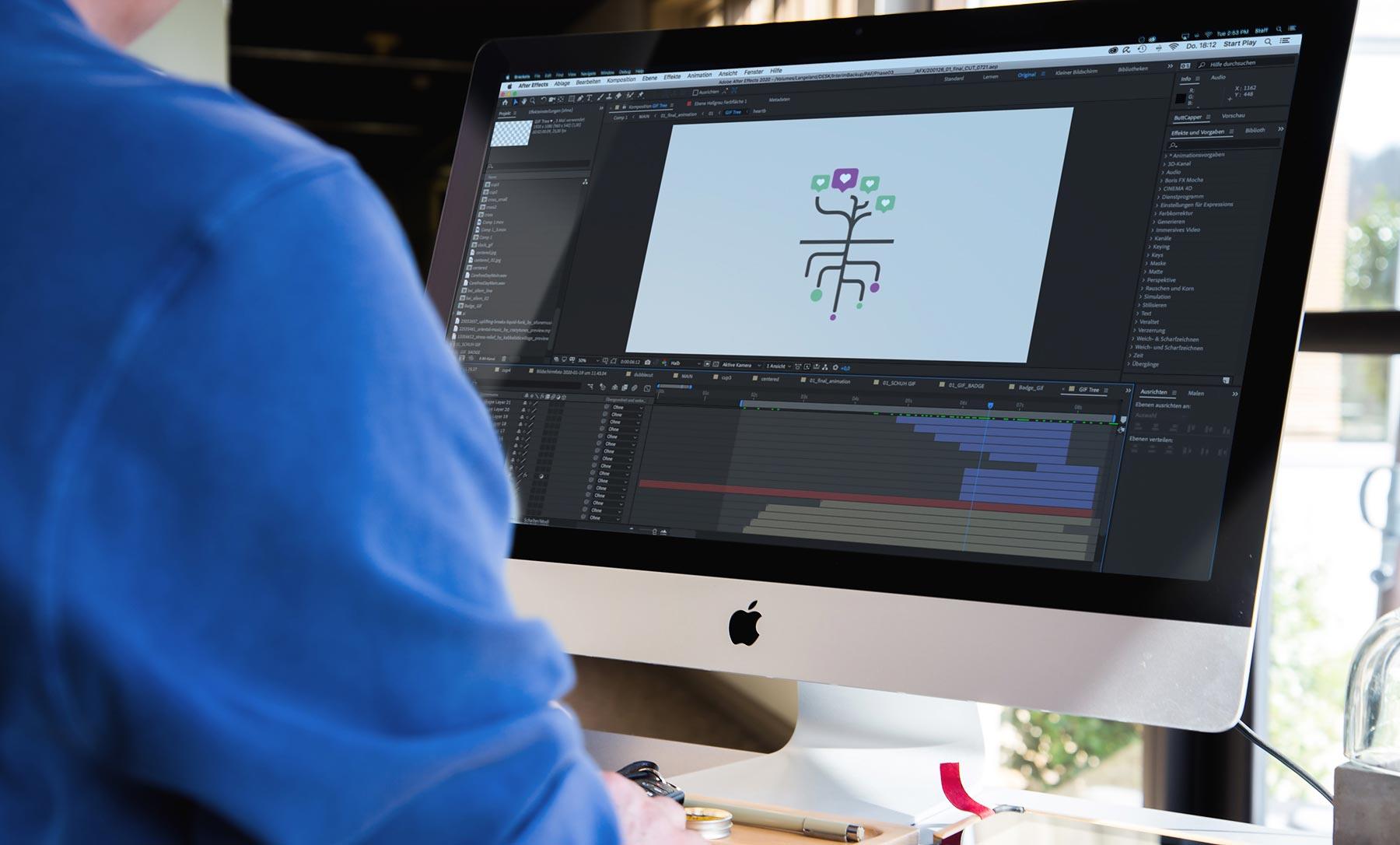 Erklärfilm Animation
